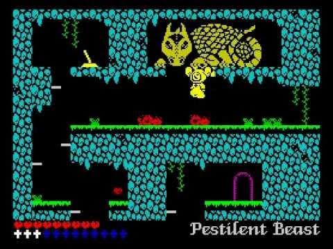 L'Abbaye des Morts Walkthrough, ZX Spectrum