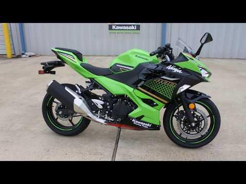 2020 Kawasaki Ninja 400 ABS KRT Edition in La Marque, Texas - Video 1