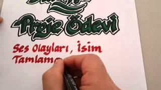 Türkçe Proje Ödevi Kapağı