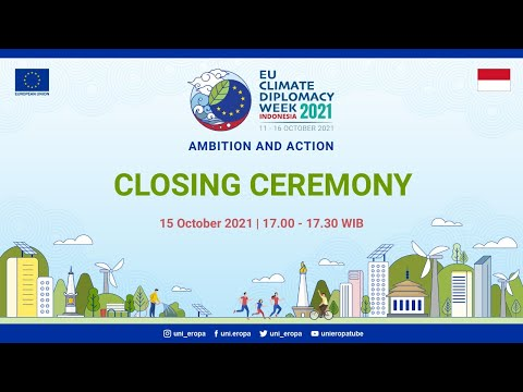 Climate Diplomacy Week 2021 Closing Ceremony