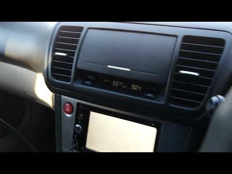 Запуск Subaru Outback BP9 в -35