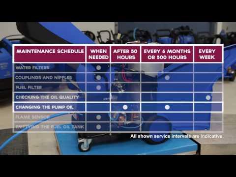 Máy phun áp lực nước nóng NEPTUNE 7 - CLEAN S&E