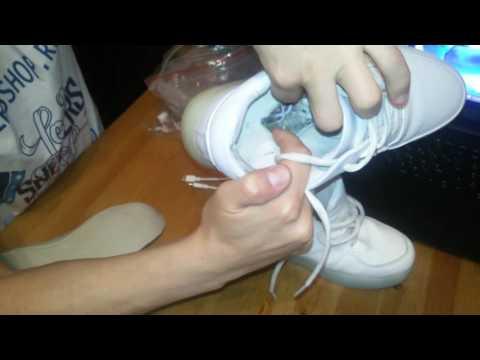 Сервис\ремонт светящихся кроссовок от ledsneakersshop.ru