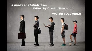 Journey Of CAstudent's ...... Full Story Of Ca Students  {capulse Official}