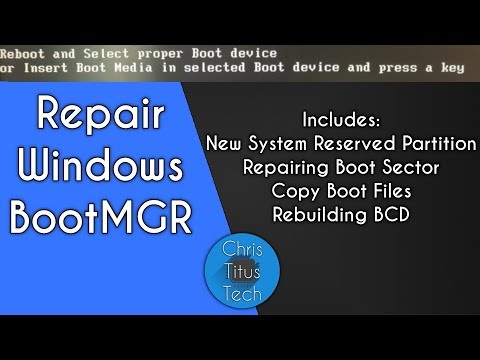 Fix Windows Boot Partition