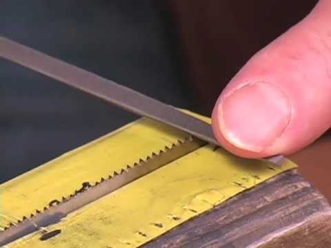 Saws Part 1: Saw Techniques & Sharpening a Rip Saw