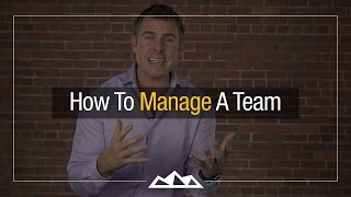 How To Manage A Startup Team  | Dan Martell