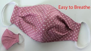 Breathable Face Mask Sewing Tutorial | How To Make A Face Mask |  Home Made Face Cover | Mascarilla