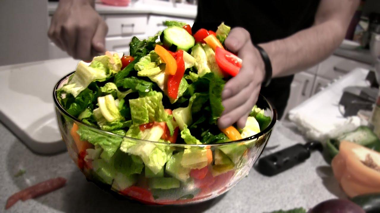 Epic Greek Salad (4,000 Calories) thumbnail