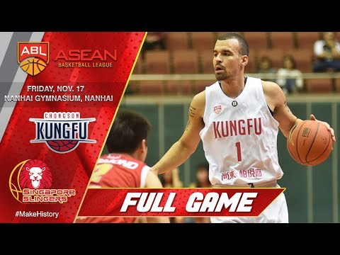Nanhai Kung Fu vs. Singapore Slingers | FULL GAME | 2017-2018 ASEAN Basketball League