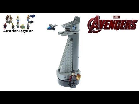 Vidéo LEGO Marvel 40334 : La tour des Avengers