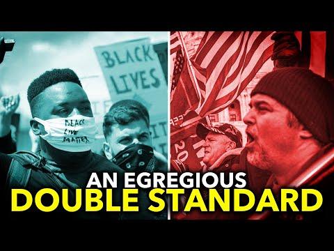How Police Treat Pro-Trump Terrorists vs. Black Lives Matter Activists