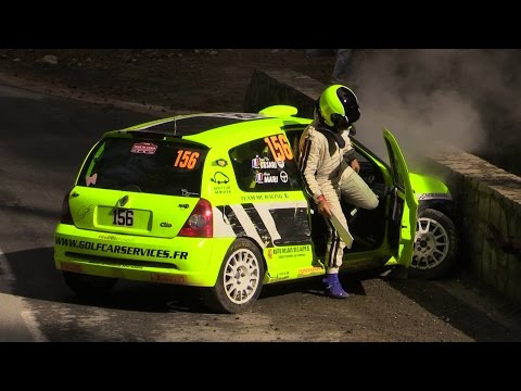 Rallye WRC Tour de Corse 2015 Crash and Show
