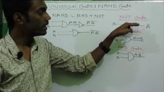 NAND Gate as Universal Gate bangla | HSC ICT Bangla Tutorial