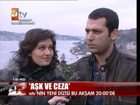 Murat Yildirim,Nürgül Yesilçay ATV Anahaber röpörtaji