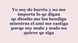 Soy de Barrio -Adan Zapta - Letra.