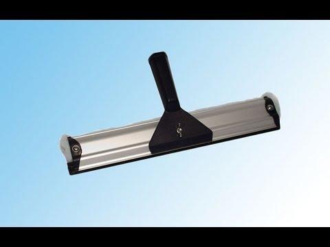 Ha-Ra vensterreiniger 32 cm, werking en gebruik. Ha-Ra nettoyeur de fenêtres, utilisation.