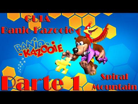 Banjo Kazooie 100%   N64   ESPAÑOL   Parte 1: SPIRAL MOUNTAIN