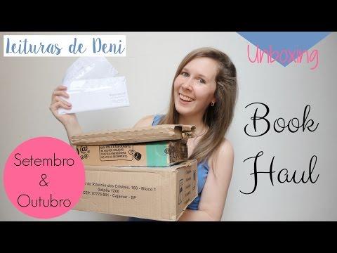 Leituras de Deni | Unboxing Book Haul - Setembro e Outubro 2016