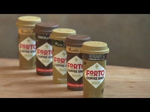 Forto, a Coffee Shot to Go