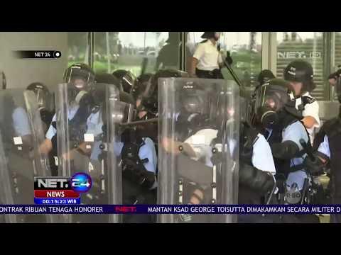 Polisi Bubarkan Massa Demonstran RUU Ekstradisi di Hong Kong - NET24