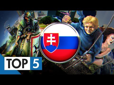 TOP 5 - Slovenských hier, ktoré písali históriu