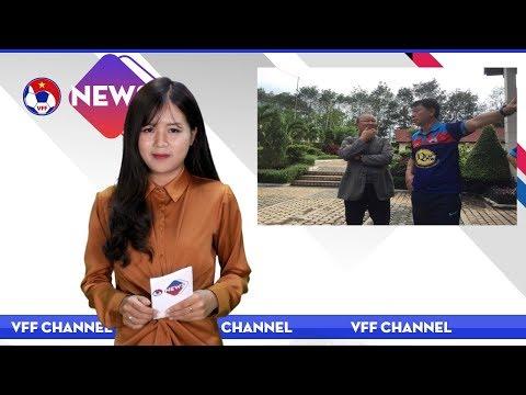 VFF NEWS SỐ 47 | Tân HLV trưởng của ĐTVN Park Hang Seo dự khán trận đấu giữa HAGL và Hà Nội FC