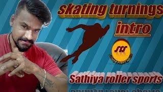 skating turnings