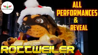 Masked Singer Rottweiler All Performances & Reveal | Season 2