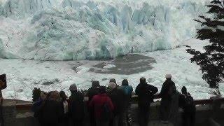 ARGENTINE - Glacier Perito Moreno, effondrement...