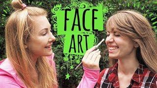 Malowanie Na Twarzy 🎨 FACE ART Z Madeline Gavi