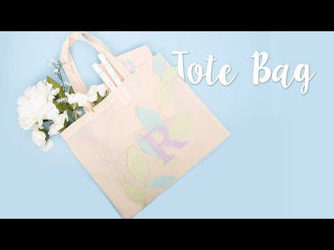 How to Make Tote Bag - Sizzix
