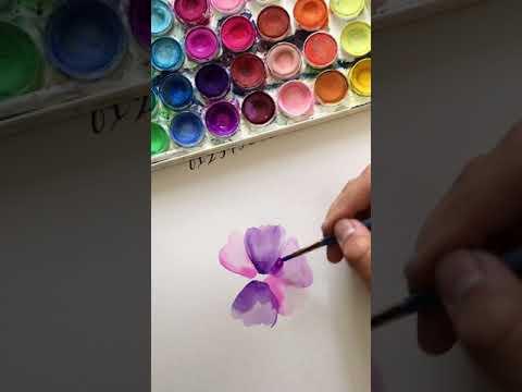 Kayla Louven Watercolor Floral