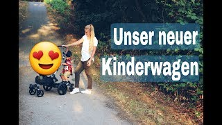 Verliebt in unseren neuen Kinderwagen l BONAVI Unboxing, Aufbau & Praxistest l Buggyboard befestigen