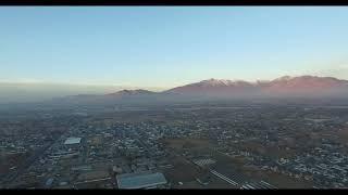 Beautiful Utah sunset filmed with DJI Phantom 3 Pro 4K