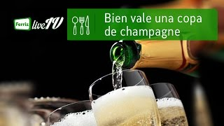 Bien vale una copa de champagne