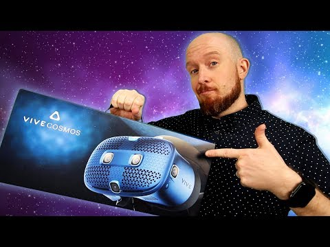 Vive Cosmos Setup, Unboxing & First Impressions