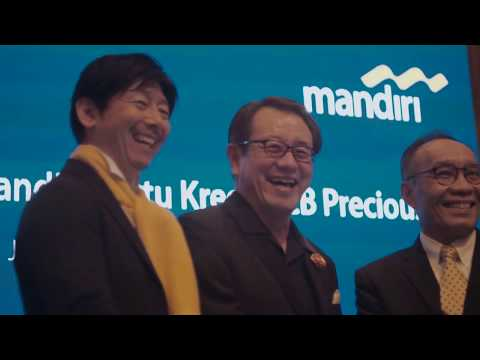 Launching Mandiri Kartu Kredit JCB Precious