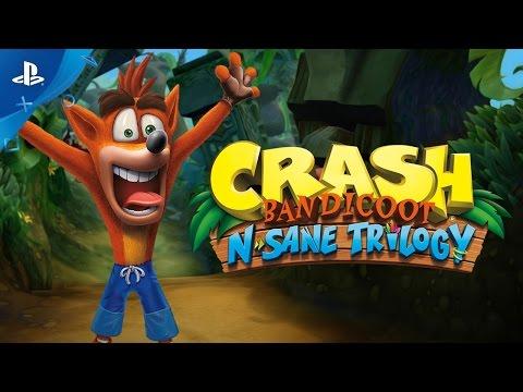 Žaidimas Crash Bandicoot N. Sane Trilogy, PS4 kaina ir informacija   Kompiuteriniai žaidimai   pigu.lt