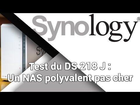 Synology DS 218J (NAS) - Unboxing + Présentation / Test / Avis / Review