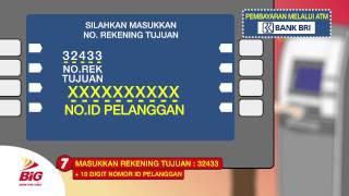 Big Info Cara Bayar Via ATM BRI