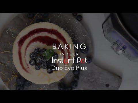 Bakken met je Instant Pot Duo Evo Plus!