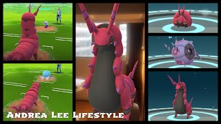 Venipede  - (Pokémon) - 《Pokemon Go》我把百足蜈蚣進化成蜈蚣王挑戰隊長PVP!フシデ Venipede ペンドラー Scolipede