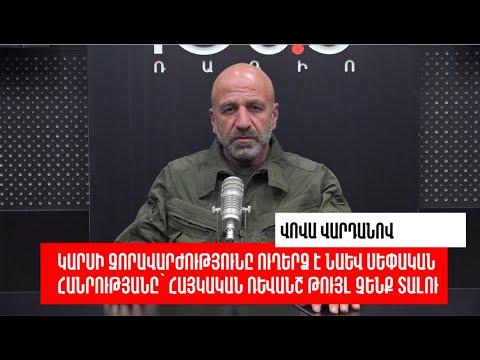 Մենք առնվազն պետք է արբանյակ վարձենք և գերուշադիր հետևենք թուրք-ադրբեջանական զորավարժություններին