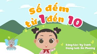 Bé học đếm từ 1-10 | Bài hát học số đếm | Counting 1-10 | Nhạc thiếu nhi hay nhất