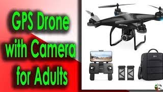 Holy Stone HS120D GPS Drone with Camera for Adults 1080p HD FPV