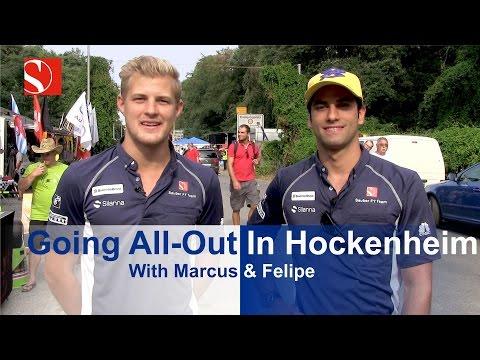 Going All-Out In Hockenheim - German Grand Prix - Sauber F1 Team