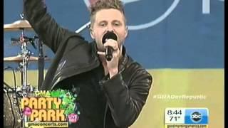 OneRepublic - Feel Again (live @ GMA)