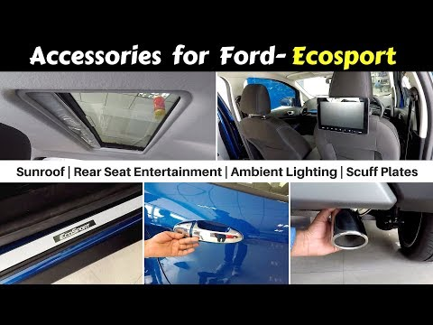 Accessories for Ecosport with Prices   Ecosport Signature   Hindi   Ujjwal Saxena