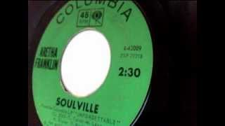 soulville - aretha franklin - columbia 1964